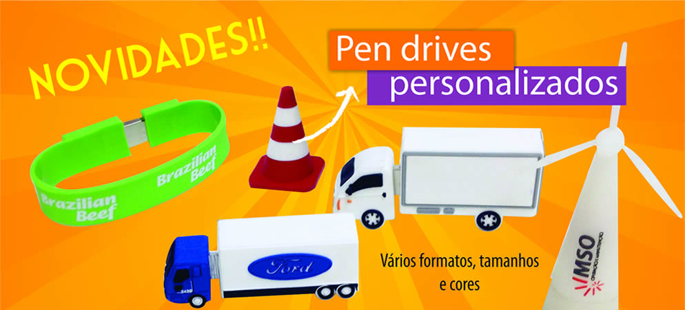 Pen Drives Emborrachados
